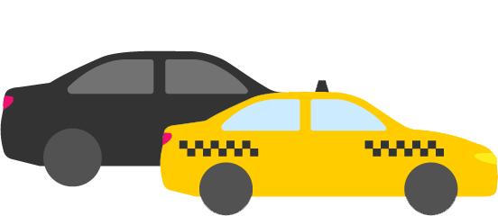 Taksi ir pavėžėjimas – kuo skiriasi?